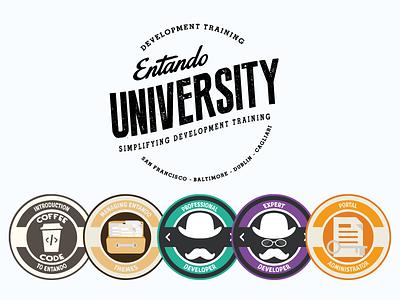 Badge Courses badge courses icons ai development web design training university