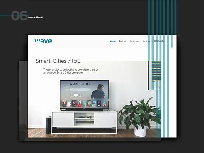 Wave Corporate website photography interface app adobe web free psd digital web design ui ux site
