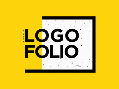 Logo Folio Dribble resume report behance ux ui psd free design brand folio logo