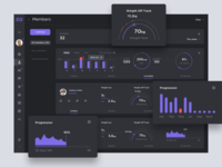 Straboo Dashboard Dark — Members