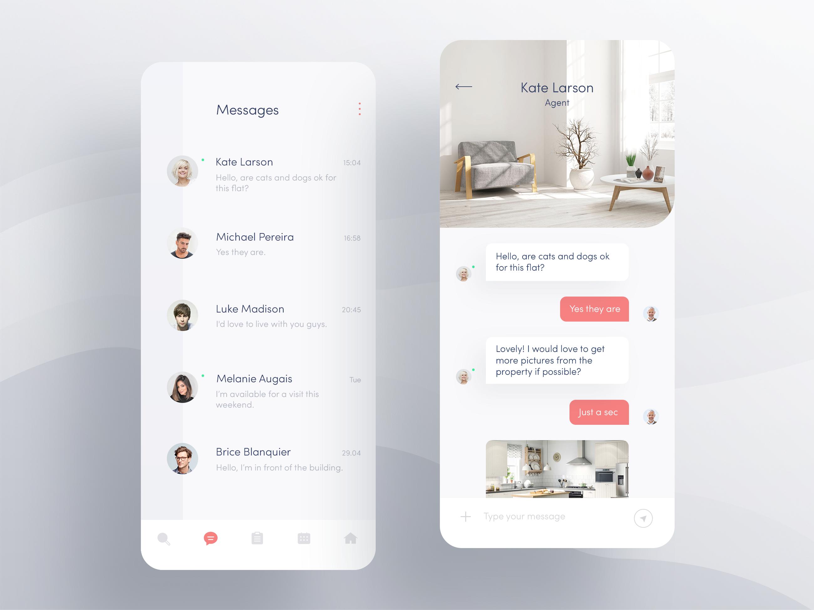 Apartment App — Messenger