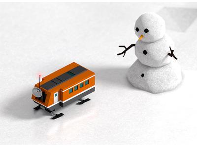 Snowman vs. Arctic Base