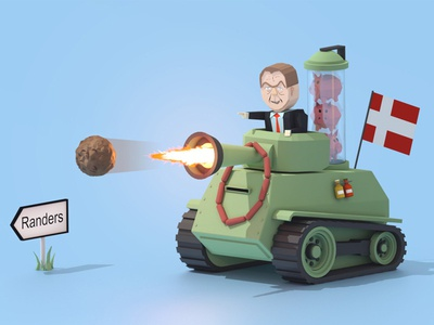 Meatball Attack Tank