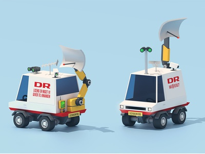 DR License Enforcement Vehicle