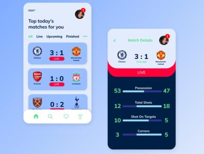 Sport Match App