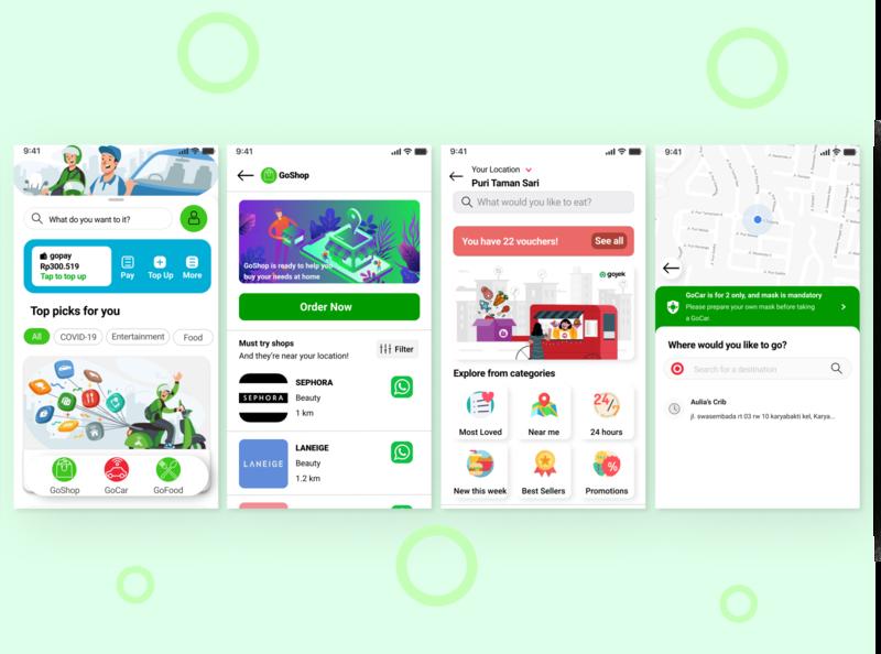 GOJEK Mobile App Redesign