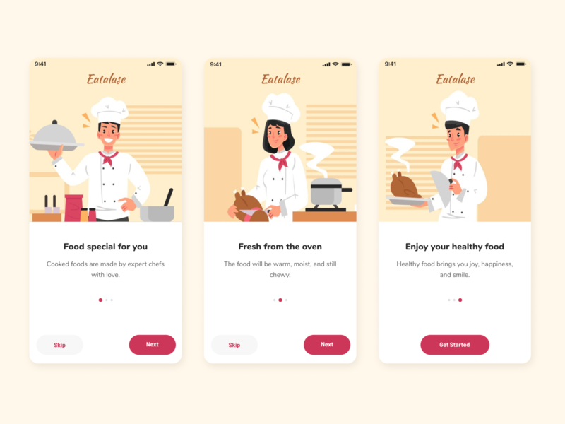 Eatalase Mobile App