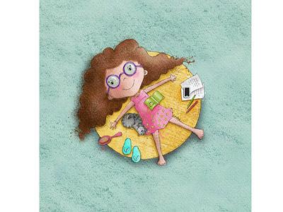 Penpal kids illustration character design book illustration procreate digitalart illustration digital illustration