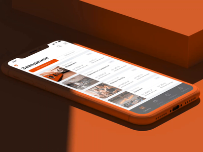 Velvet App velvet prostudio uidesign orange ios app design ux mobile app design animation app development app design ui