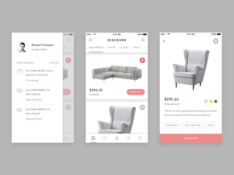 Furniture Shop App