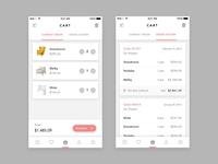 Furniture Shop App - Cart