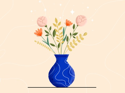 Flowers childrens illustration flower illustration plants vector vector art vector illustration digital illustration digital art design illustration art illustration