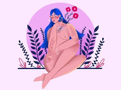 Spring vector character design character vector art vector illustration digital illustration digital art illustration design illustration art
