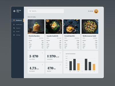 Diet App UI app uidesign mobileappdesign diet app design ui ui design dailyuichallenge dailyui daily 100 challenge