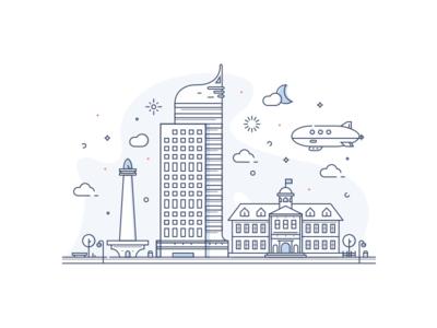 Landmarks of Jakarta