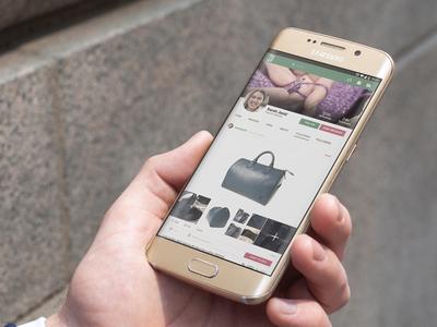 Mobile App - User Profile View user profile mobile app