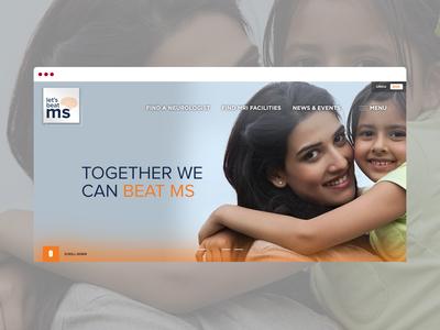 LetsBeatMS web design