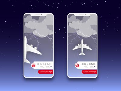 Ticket Booking App Concept flight travel vector branding flat typography app icon ux ui design illustration