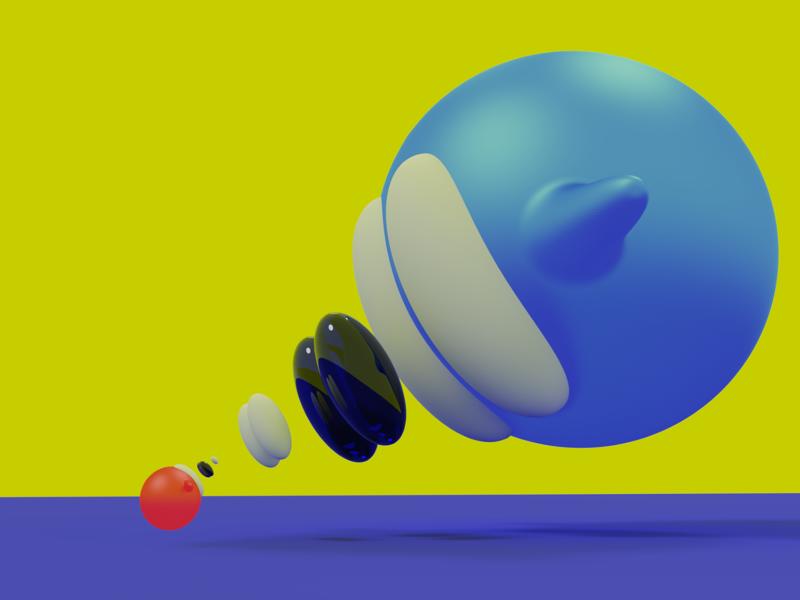 New Angle blender3d blender art 3d art design 3d clean illustration branding