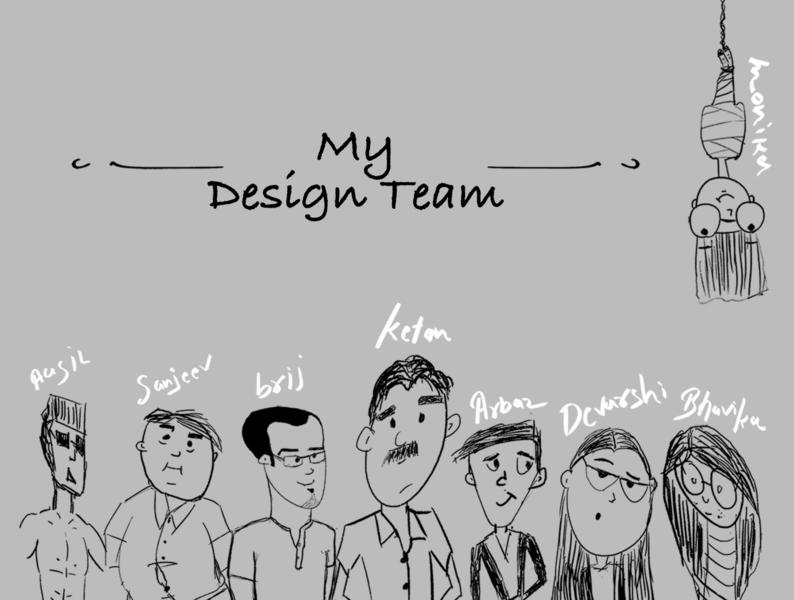 My Team teams design sketch