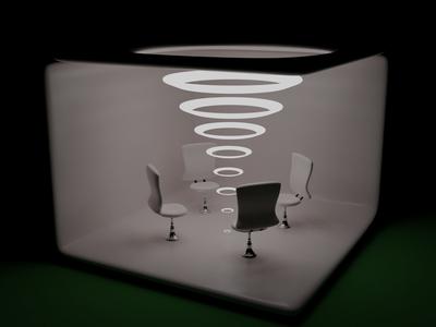 Lights lights chair office 3d 3d art blender