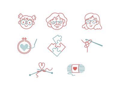 Terapearte icons crafts illustration icons design icons