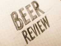 Beer Review Sketch