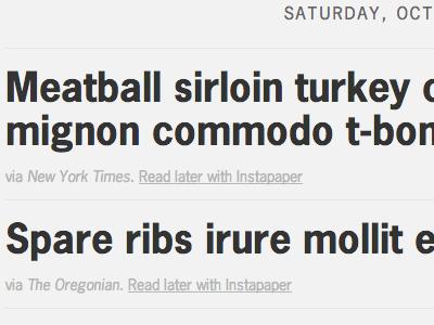 Some headlines