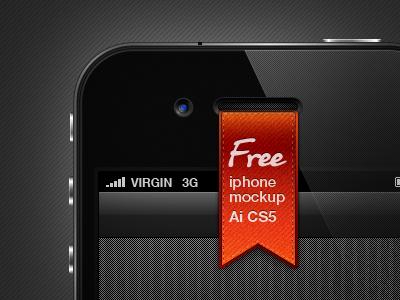 Iphone Mockup illustrator iphone mockup freebies