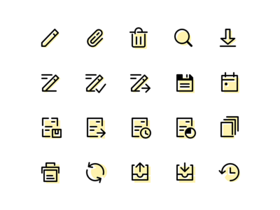 Another set of RF icons
