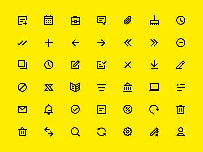 Icons ux ui дизайн design bank raiffeisen банк райффайзен
