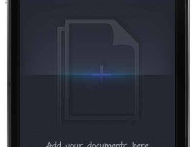 Scanner App illustrator mobile ui tabbar scanner animation placeholder iphone app iphone ui album glow iphone home about camera ettings