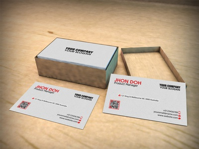 4 business cards in cardboard box mock up by ashmawi sami dribbble 4 business cards in cardboard box mock up colourmoves
