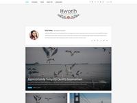 Hworih - Clean & Responsive WordPress Blog Theme