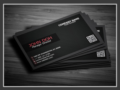 Free Creative Business Card style psd personal modern creative corporate company clean business card free