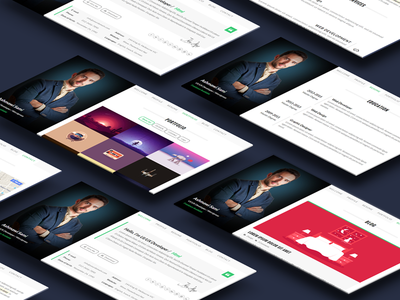 Riche vCard | Personal CV Resume HTML Template creative cv flat html5 personal portfolio professional responsive resume skills timeline vcard