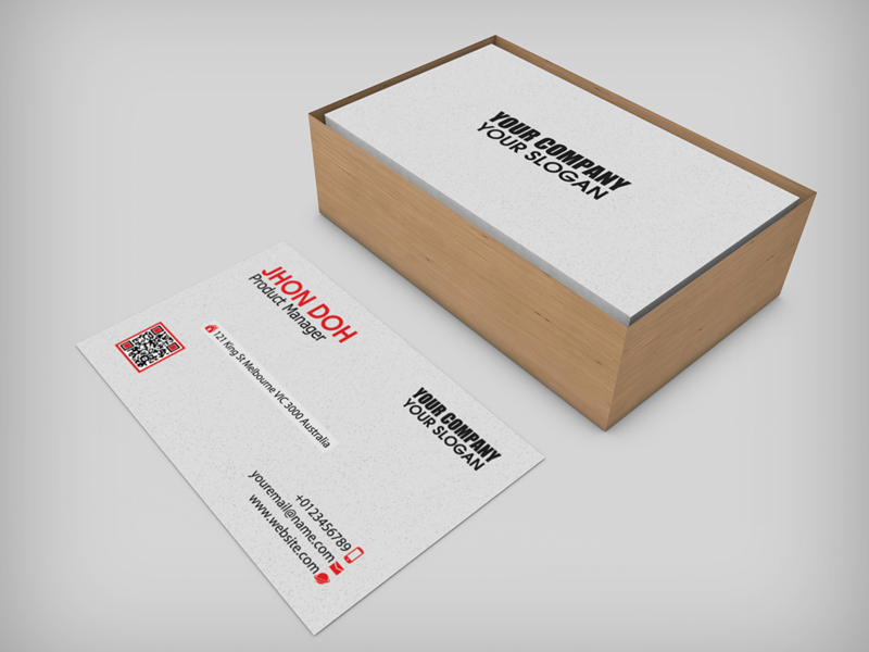 Great business card boxes contemporary business card ideas business cards in cardboard box mock up by ashmawi sami dribbble fbccfo Choice Image