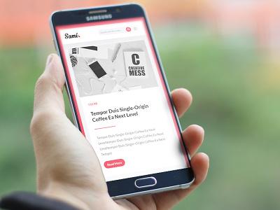 Sami - Premium Blog/Magazine HTML Template blog blogger blogging bootstrap business clean corporate flat magazine modern news portfolio