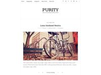 Purity - Clean & Minimal Blog WordPress Theme