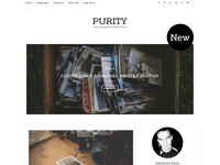Purity - A Responsive WordPress Blog Theme