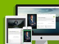 Riche   Personal Vcard Wordpress Theme