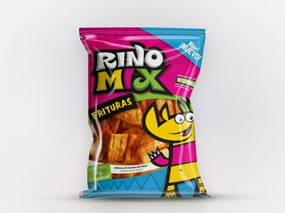 Project : Rinomix packaging