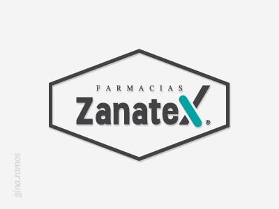 Project: Farmacias Zanatex interior design and advertising. logo design