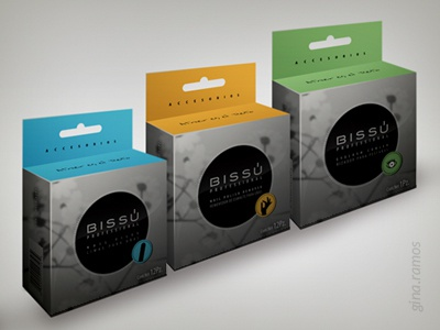 Project: Bissú Cosmetics - Accesorios packaging