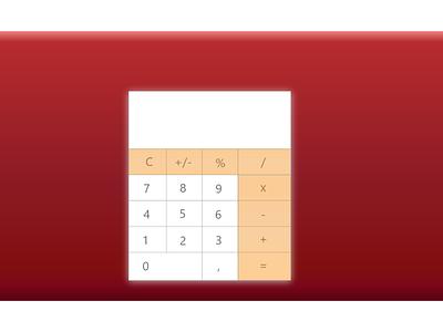 Calculator dailyuichallenge dailyui