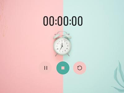Countdown Timer design dailyuichallenge dailyui