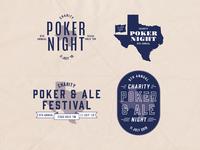 Poker Night Logo Explorations