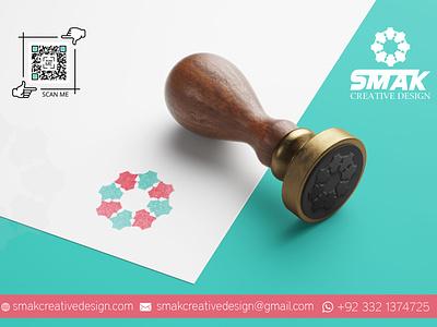 Retro, Vintage, Stamp, Heraldic, Minimal, Classic, Luxury SMAK vector smak design illustraion logodesign creative logo design logo stamp