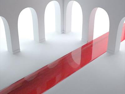 Kapoor loop motion abstract 3d art 3drender octanerender octane maya