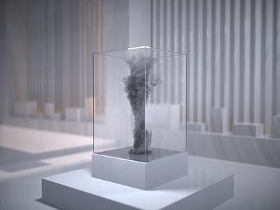 Encapsulated Tornado abstract motion c4d 3d modeling maya 3d art 3d